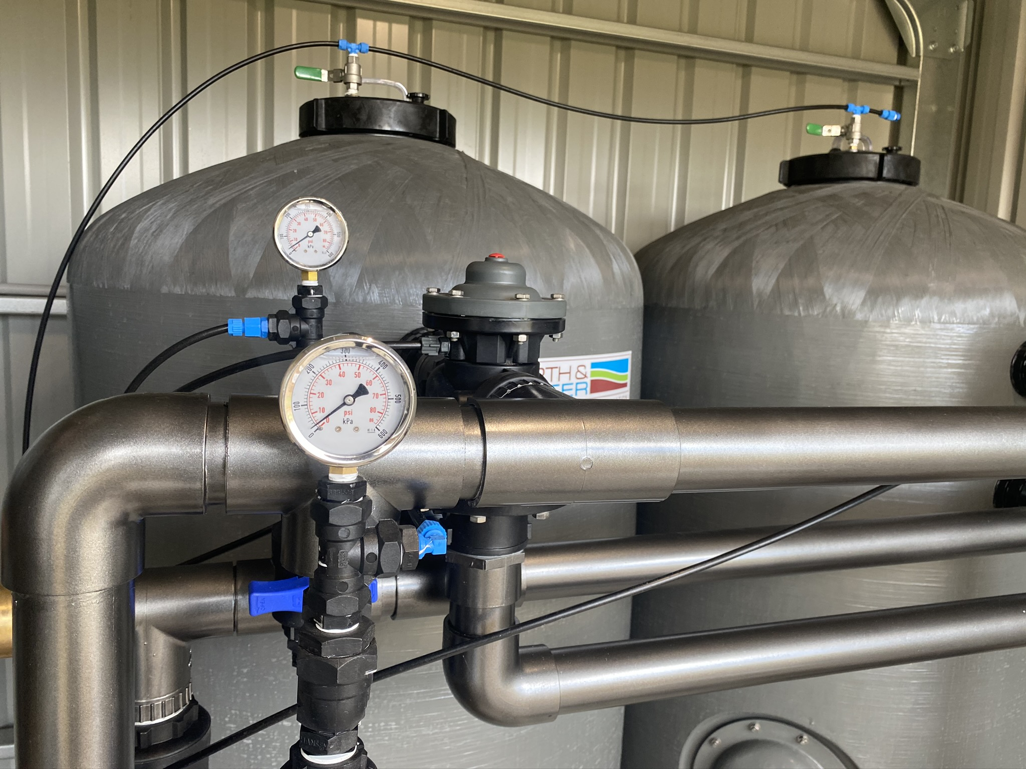 Joondalup Bore water treatment