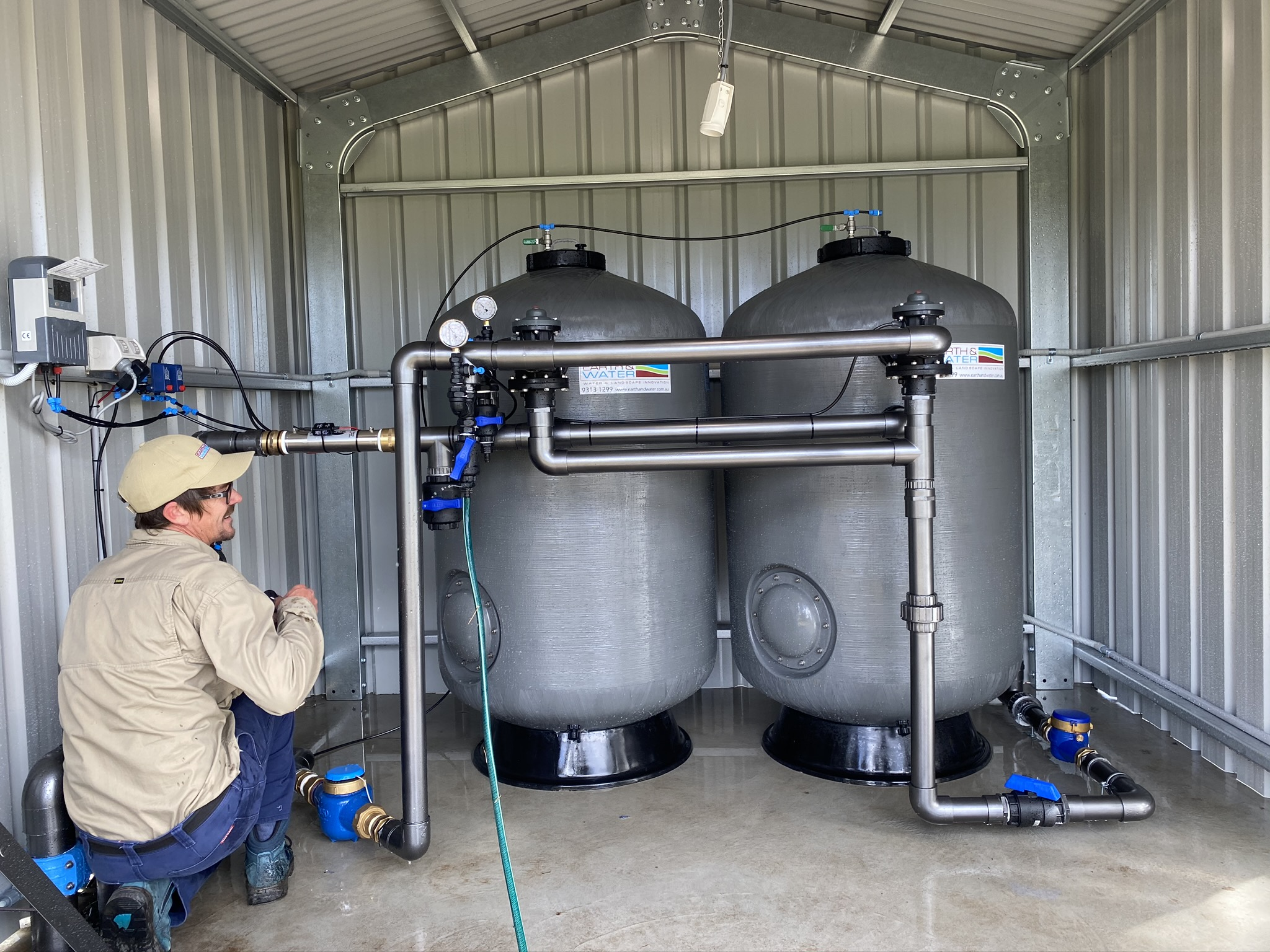 Bore water Treatment at Joondalup Primary School