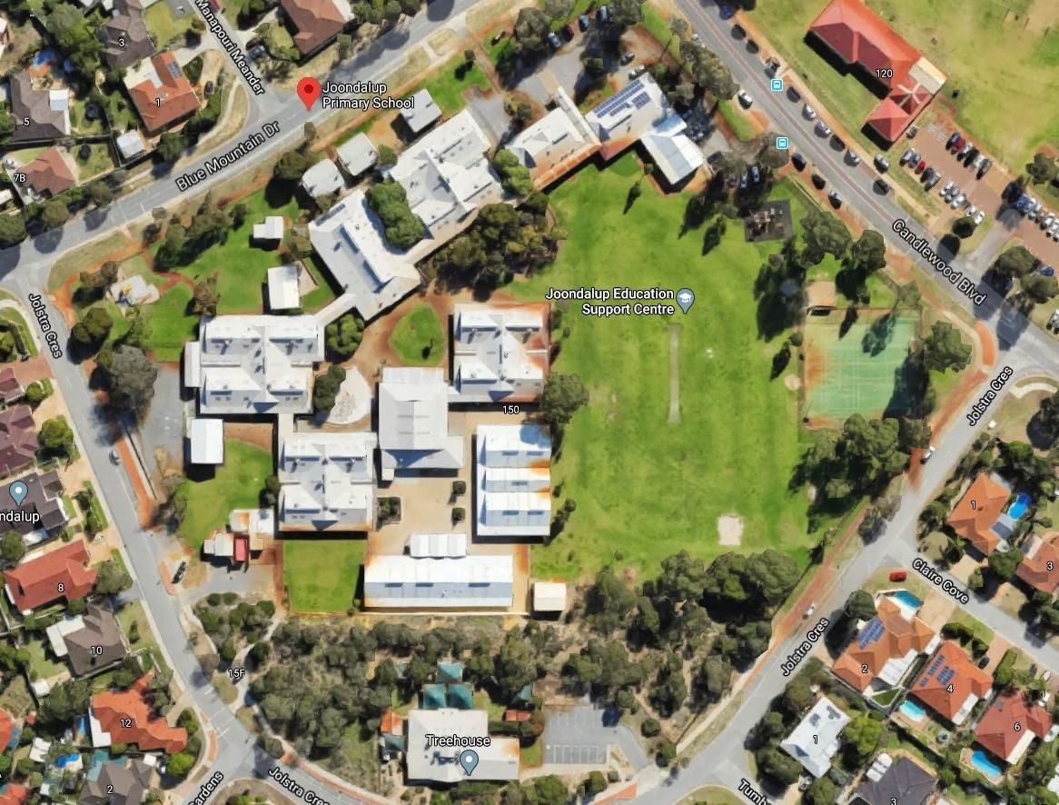 Joondalup Primary School Aerial View 1