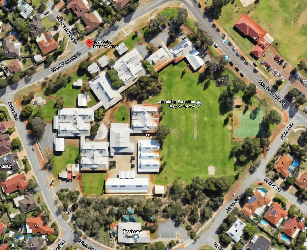 Joondalup Primary School Aerial View