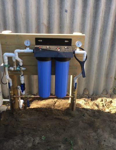 Rainwater treatment system