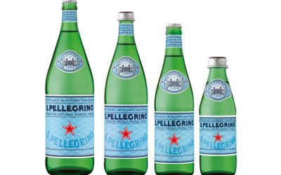 How is bore water similar to San Pellegrino?