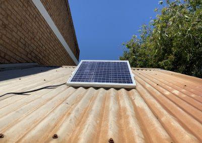 Solar Powered Rain Water