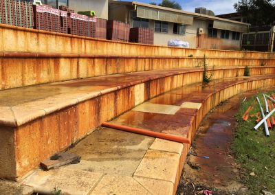 Melville Senior High School – Iron Stain Removal