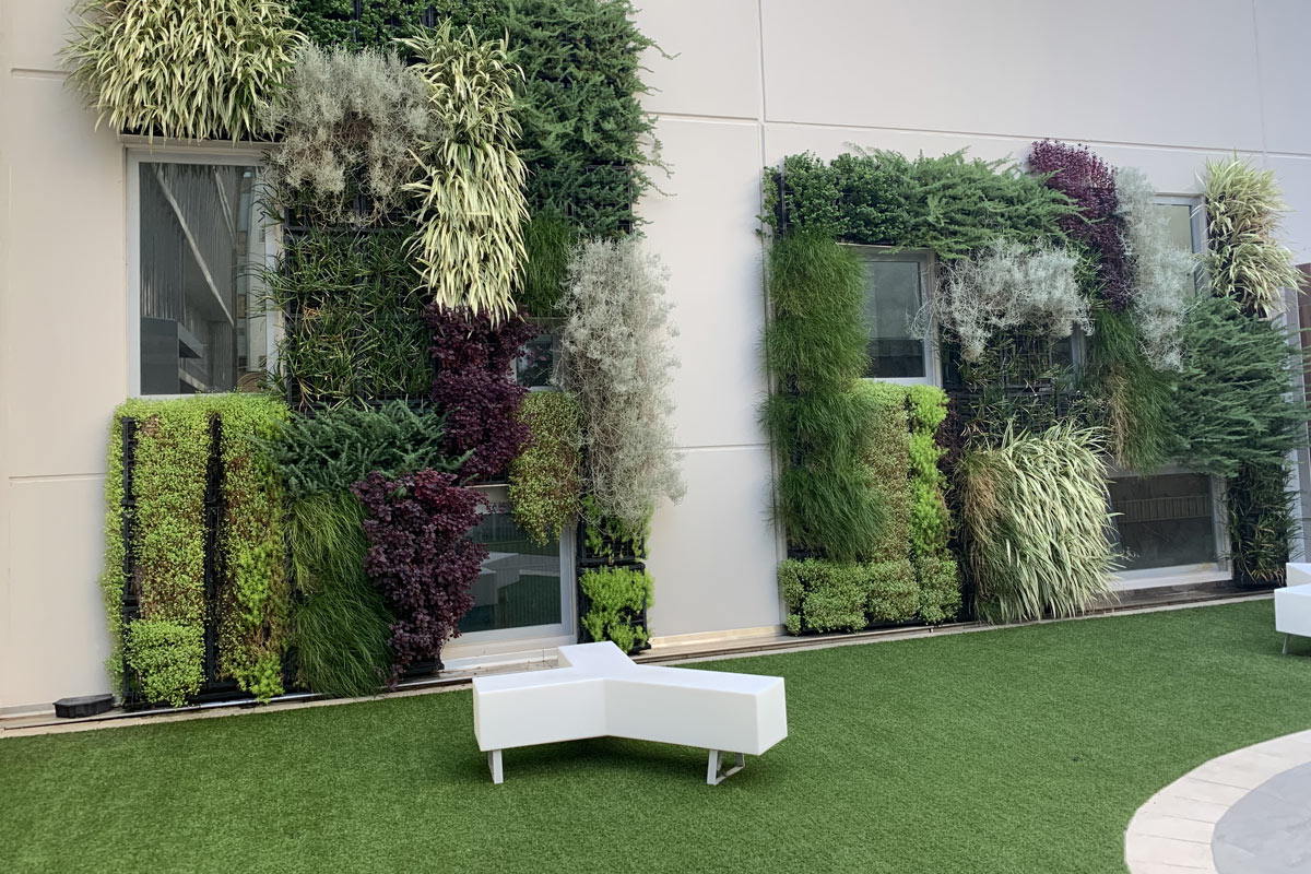 Concerto Apartments Vertical Living Wall