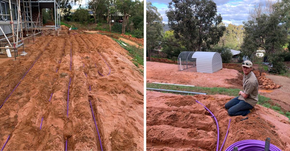 Effluent Dispersal Subsurface Drip irrigation
