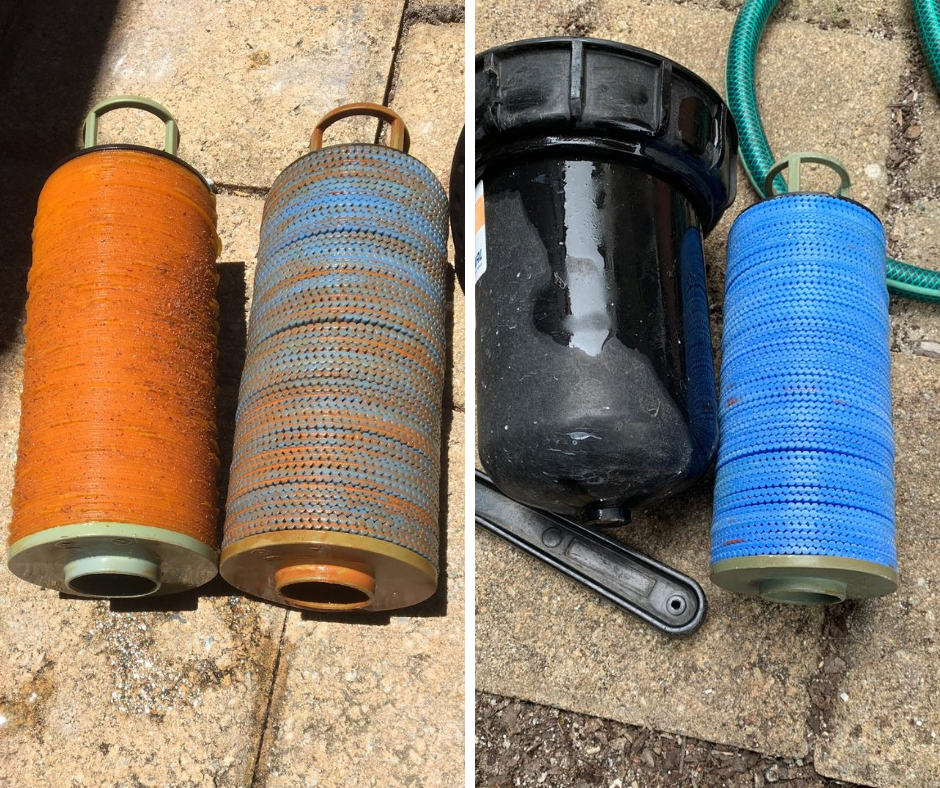 Tech Filters with iron clogging