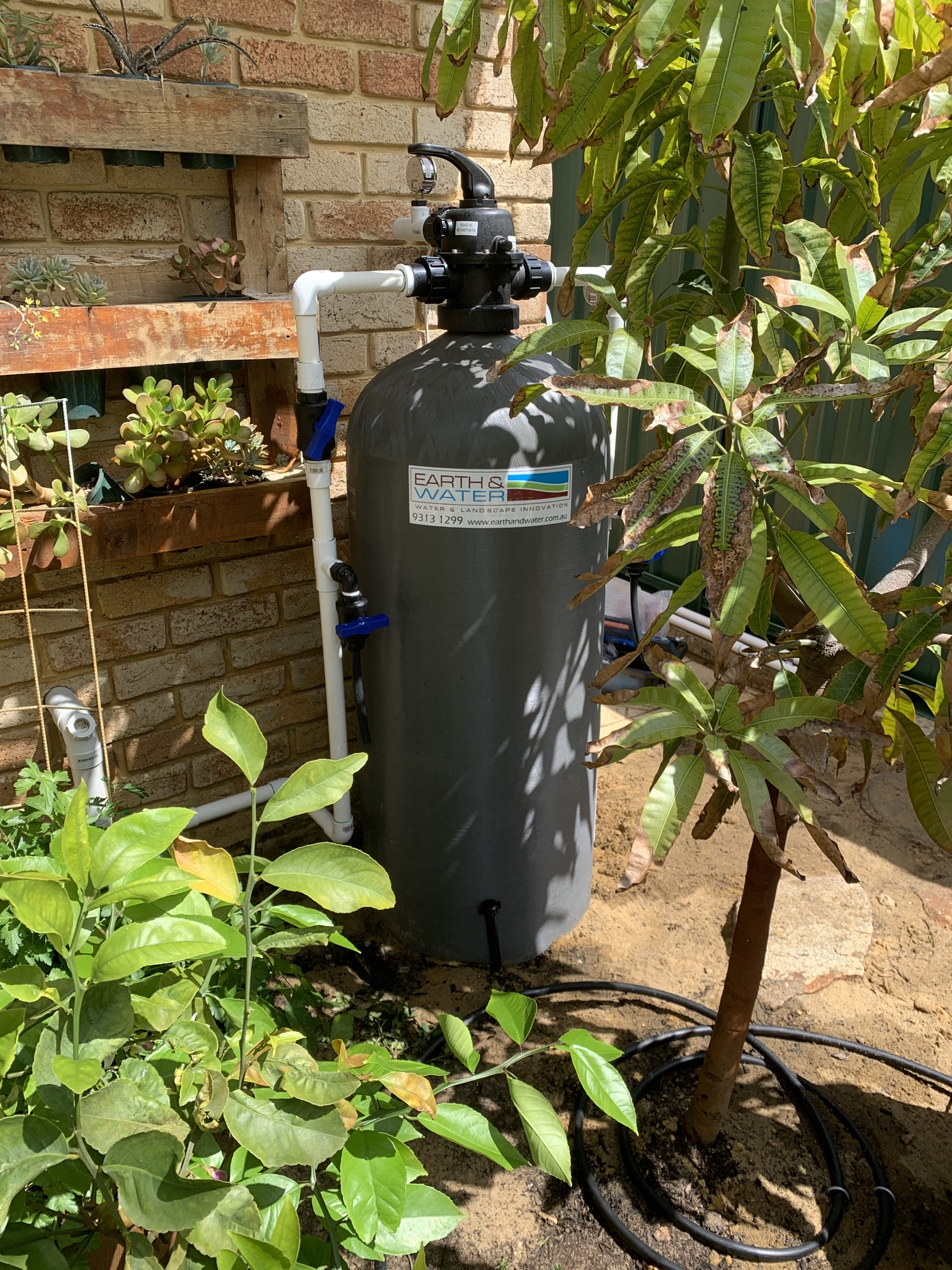 Joondalup Iron stain removal and bore water treatment Letter box